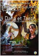 Concert de dana( the voice ) et taezi en duo harpe/voix
