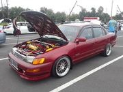 Turn Up the Pink 7th Annual Car Show Toyota Corolla