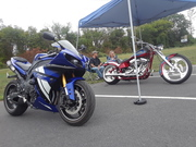 Turn Up the Pink 7th Annual Car Show Bikes are More Than Welcome