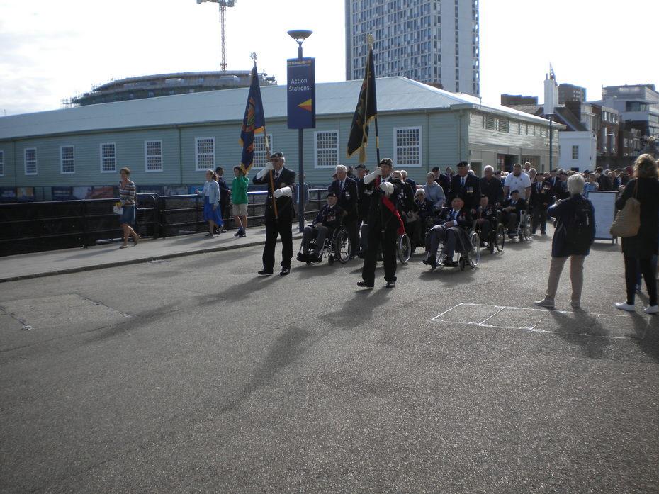 Portsmouth, 7 Sept. 19 Reunion of D-Day Veterans