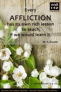 Thought For The Day ( AFFLICTION )