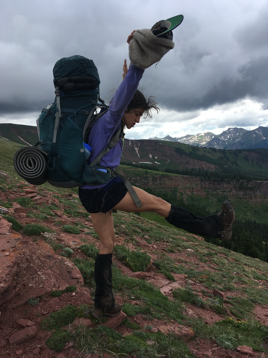 backpacking CO