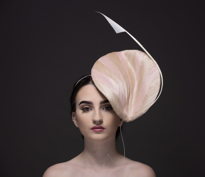Mini Lanza by Donna Hartley Millinery