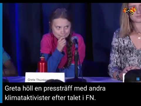 Greta Thunberg Without a Script