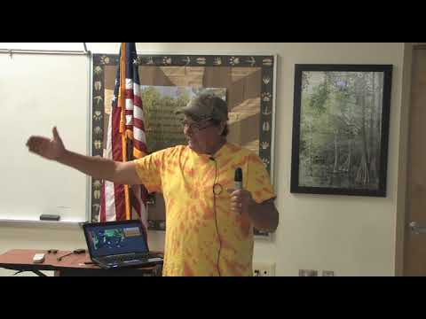 PBC Beekeepers September fun meeting with John Coldwell on his Micro Apiary Program