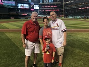 12th Ballpark with former Cardinal Buddy Schultz