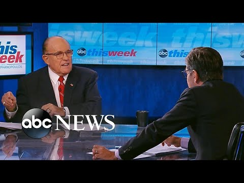 Giuliani Lays Out Evidence On Ukraine| ABC News