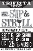 Downtown Clarksville Sip and Stroll