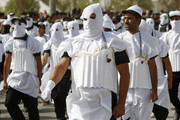 marching suicide bombers baghdad