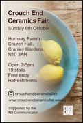 Crouch End Ceramics Fair