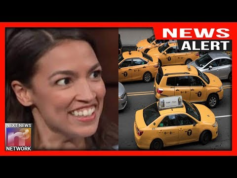 ALERT: AOC Wants You To Foot The Bill For These Taxi Drivers But There's Just ONE Problem