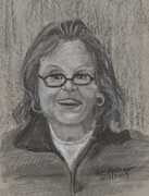 Portrait of my mother.
