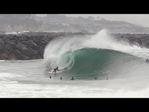 The Wedge - Most PERFECT Day of 2019 (RAW FOOTAGE)