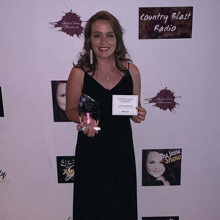 Jessie Lynn - 2019 Josie Award - Female Artist of the Year