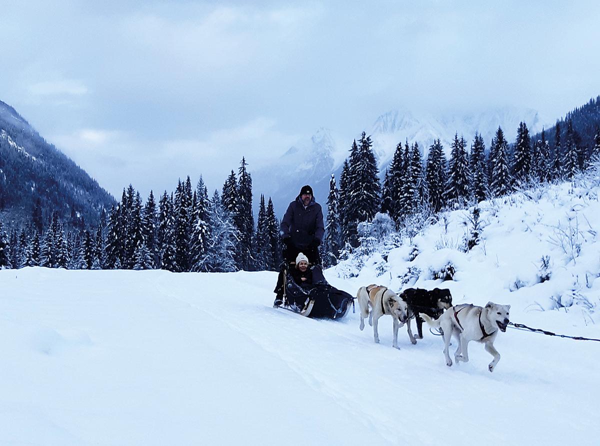 Per slee door de Canadese wildernis
