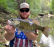 """14.5"""" Smallmouth Bass (10-7-19)"""