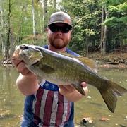 """17"""" Smallmouth Bass (10-6-19)"""