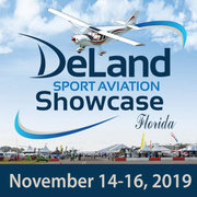 Zenith at the DeLand Sport Aviation Showcase in Florida: November 14 - 16, 2019