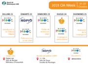 Open Access Week 2019 at the Universitat Autònoma de Barcelona