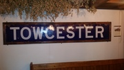 TOWCESTER STATION SIGN