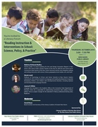 Reading Instruction and Interventions in School: Science, Policy, and Practice