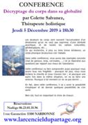 Conférence gratuite Décryptage du corps par Colette Salvanez