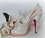 "Wedding Shoe - ""Love Is # 2"" Collaboration"