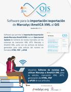 Presentación de software para la importación/exportación de Marcalyc/AmeliCA XML al OJS