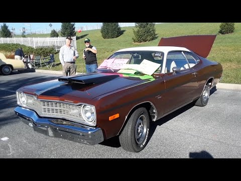 """Francis' 1973 Dodge Dart """"I Ordered It This Way"""" At the 2019 AACA Fall Meet, Hershey"""