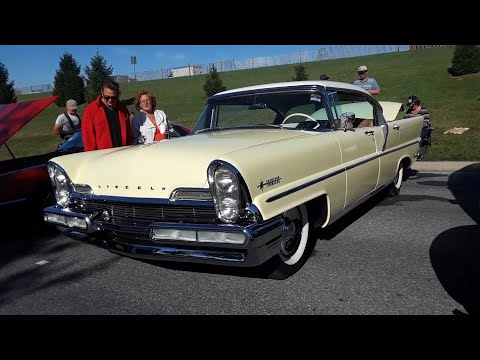 1957 Lincoln Premiere Landau At the 2019 AACA Fall Meet, Hershey