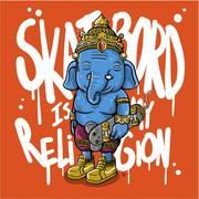 """นิทรรศการ """"Skaterboard Is My Religion"""""""