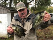 Awesome Black Crappie Daily Double...10/21/2019