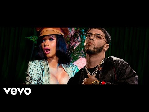 Anuel AA X Cardi B X Fat Joe - Yes -  (Video Official)