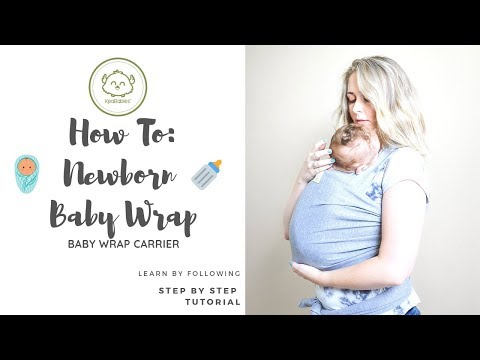 Baby Wrap Tutorial: Babywearing For Newborns In Wrap Carriers