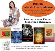 Dédicace au Salon du livre de Milhaud (France-Gard)