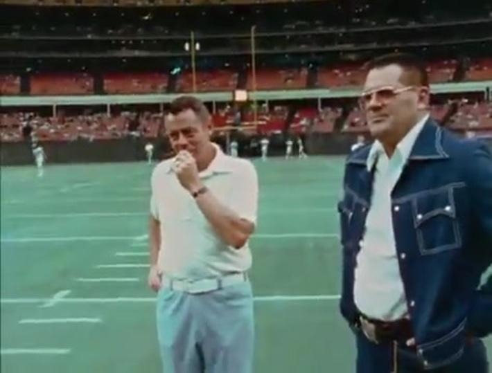 Oilers vs Broncos 1976