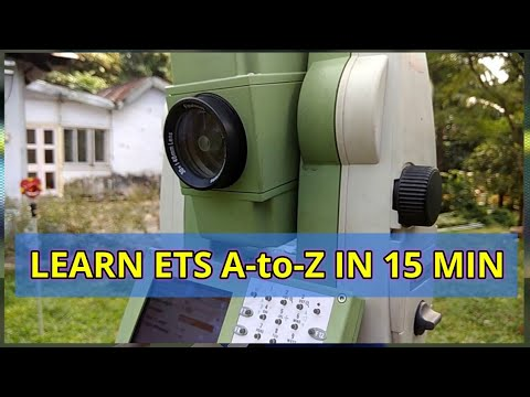 TOTAL STATION SETUP | CENTERING LEVELLING ORIENTATION | LEICA TS11