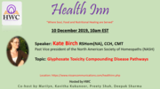 Glyphosate Toxicity Compounding Disease Pathways by Kate Birch