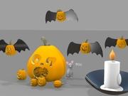3-d pumpkin 10-31-2019  Kulshan M.S.