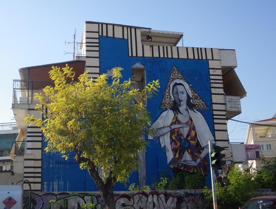 Γκράφιτι του Artist bleeps.gr