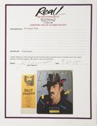 Epperson COA for Franks Zappa Autographed ''Viva Zappa'' Book