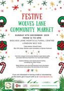 Festive Wolves Lane Community Market