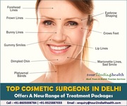 Top Cosmetic Surgeons in Delhi Offers A New Range of Treatment Packages