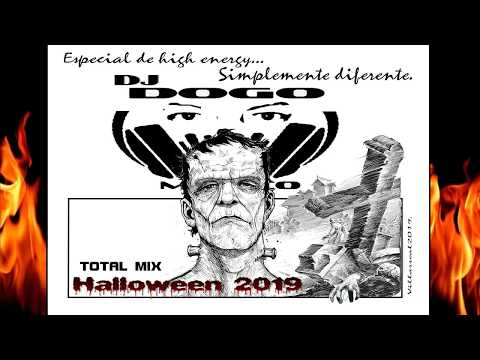 HIGH ENERGY RETRO MIX HALLOWEEN 2019