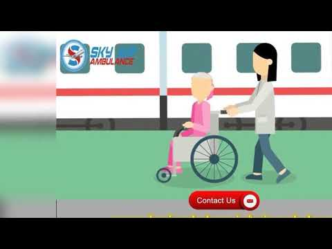 Hire Sky Train Ambulance Service in Delhi and Patna without Extra Cost