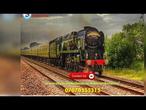Get Highly Injured Patient Shifting from Jamshedpur and Kolkata by Sky Train Ambulance