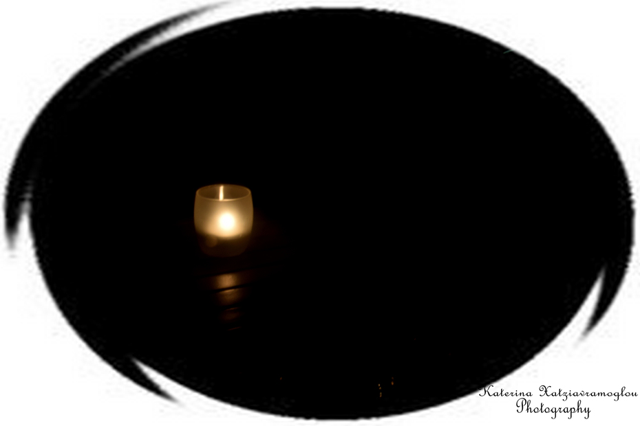At night a candle's brighter than the sun