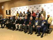 2019 Pittsburgh Living Jazz Legends group picture at MCG