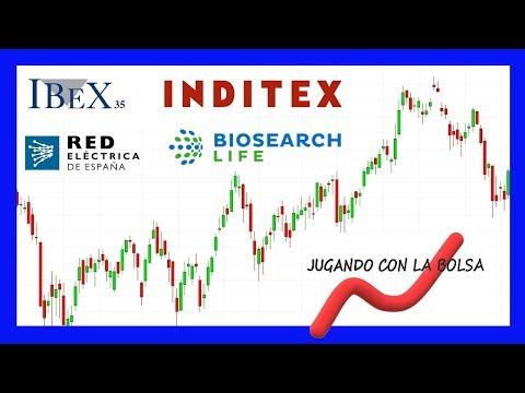 Análisis de Ibex, Inditex, Biosearch y Red eléctrica