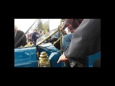 Crank,Family and Roll Starting A 1912 EMF Model 30 s At the 2019 AACA Fall Meet,Hershey